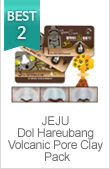 JEJU Dol hareubang 3 step blackhead pack